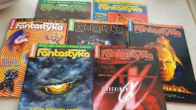 Magazyn Nowa Fantastyka od 1993 do 1998