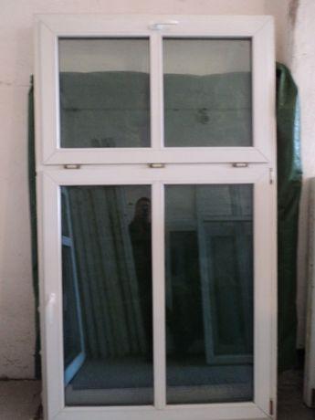 Okno pcv -sz127x220wys- ( kamienica-krzyż )