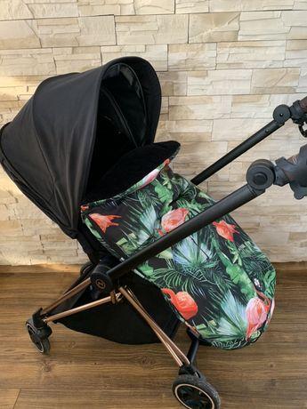 Śpiworek do wózka Mia Jg handmade
