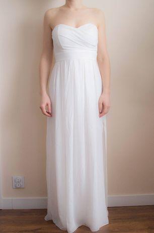 Suknia ślubna, na wesele, ślub cywilny, poprawiny S/ 36