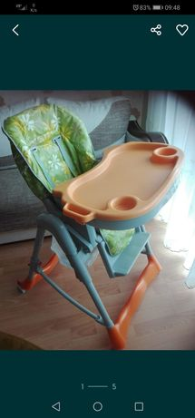 Krzesełko do karmienia piękne