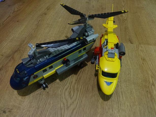 Lego City Вертолет скорой помощи и Глубоководный вертолет