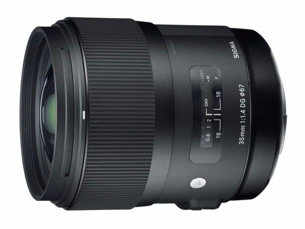 Sigma 35 mm f/1.4 A DG HSM Sony A