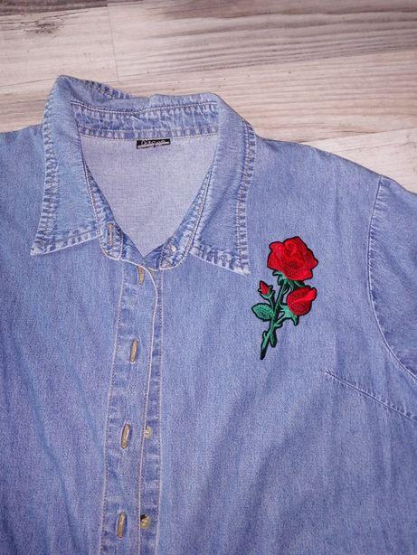 Koszula jeansowa 46