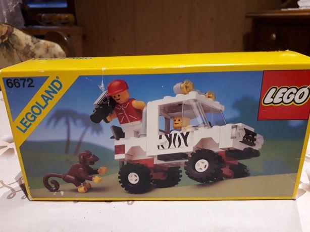 Zestaw klocków Lego 6672 instrukcjia plus pudełko klocki z 1990