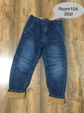 Spodnie chlopiece reserved 104