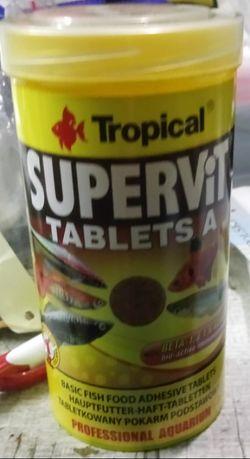 Supervit tablets A pokarm tabletki do przyklejania Waterworld Krosno