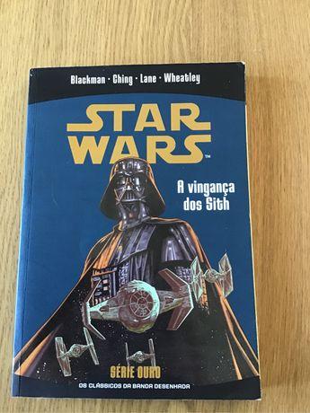 BD Star Wars a vinganca dos Sith Lucas books