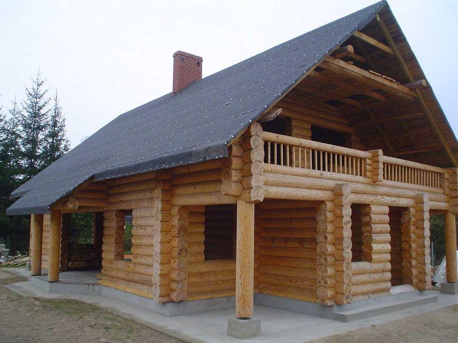 Dom z bali, dom drewniany domek letniskowy, altany.Producent! Busko-Zdrój - image 1
