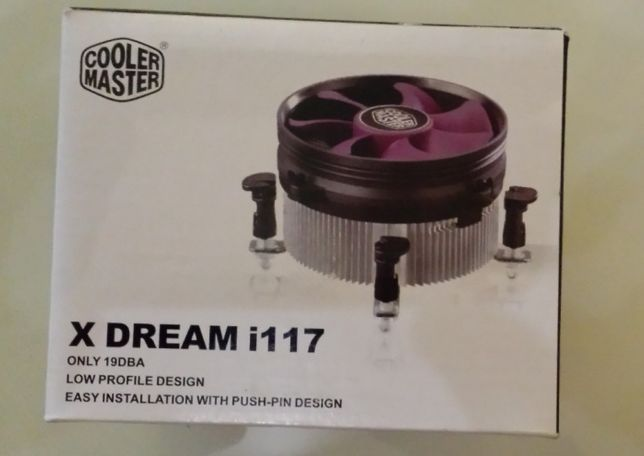 Coller master x dream i 117 para CPU
