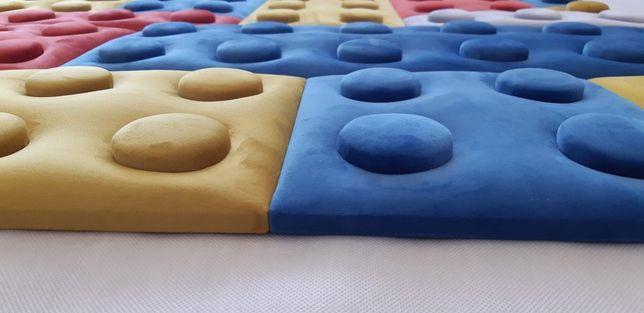 LEGO - Tapicerowane, miękkie panele ścienne /akustyczne/ HIT !