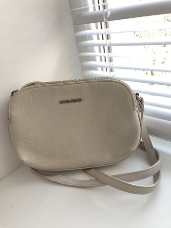 Женская сумка светло бежевого цвета david jones