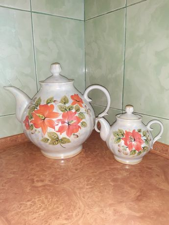 Чайник, чайник фарфор, сервис,заварочные чайники