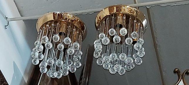 Candeeiros de cristal