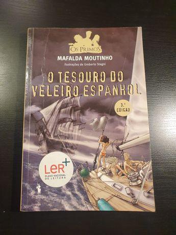 """Livro """"O tesouro do veleiro espanhol"""""""