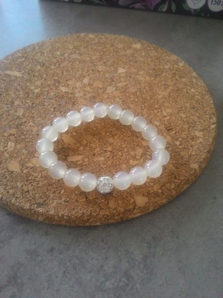 bransoletka damska koraliki biżuteria