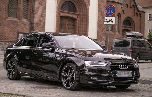 Auto ślub Audi A4 B8 quattro S-LINE