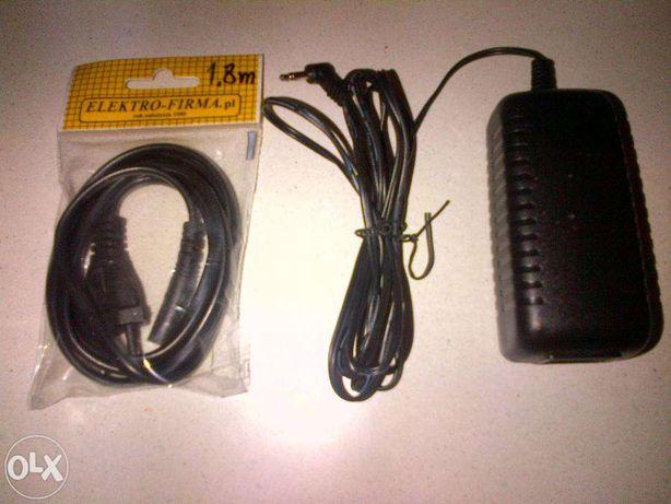 ZASILACZ elektroniczny SAGEM AC/DC 12 V do laptopa dekodera NOWY