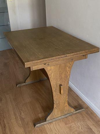 Stol drewniany rozkladany max 1,60 stolik