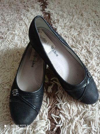 Школьные туфли на девочку стелька 23 см
