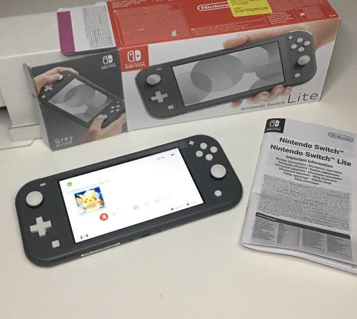 Nintendo Switch Lite Preta nova em caixa