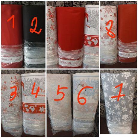 Новогодняя ткань ранфорс для пост.белья, Турция, 100% хлопок, 2,4м