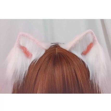 Кошачьи ушки аниме косплей
