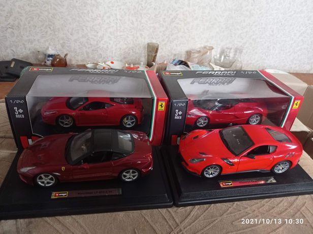 Авто Bburago Ferrari Феррари 1/24