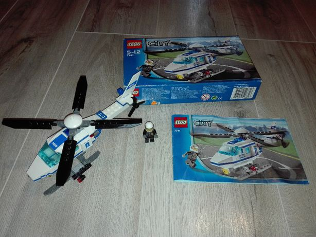 LEGO City 7741 - Helikopter policyjny