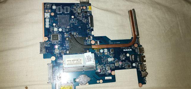 Laptop hp Compaq płyta główna zs051