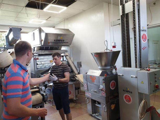 Автоматизация хлебозавода Пекарня под ключ с Германии