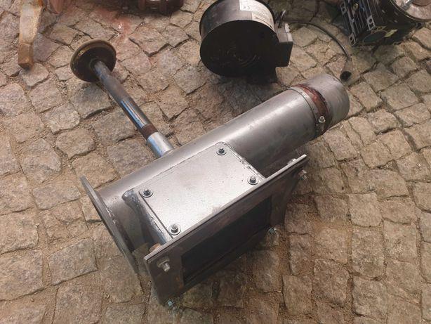 Rura i komora podajnika na węgiel do pieca EKOCENTR 25kW