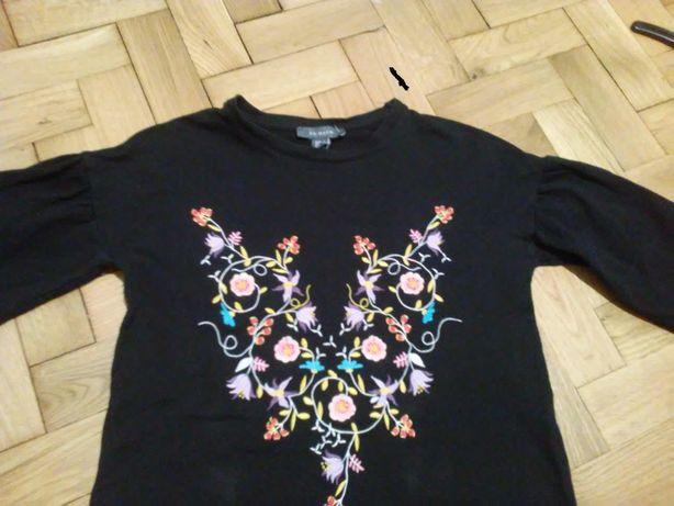 bluza/ tunika dresowa z haftem PRIMARK roz. S/M 152-164cm