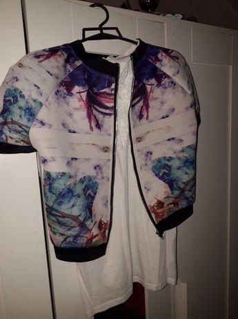 Komplecik bluza i spodniczka rozmiar 38