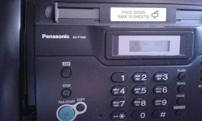 Факс Panasonic KX-FT 932