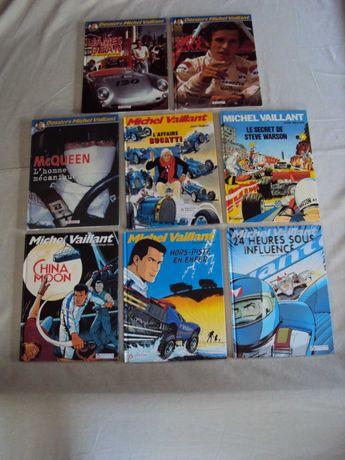 Michel Vaillant - 6 Livros DOSSIER e outros