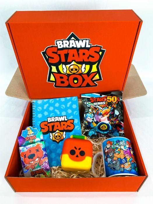 Набор Brawl Stars Box 2021 Бравл Старс Бокс Мега Ящик сундук игрушка Киев - изображение 1