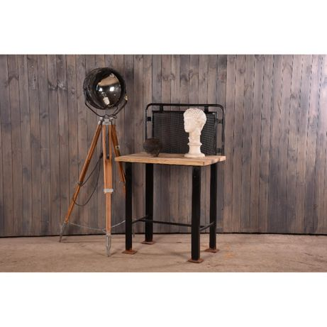 Стол металлический лофт, промышленный стол, верстак, заводская мебель