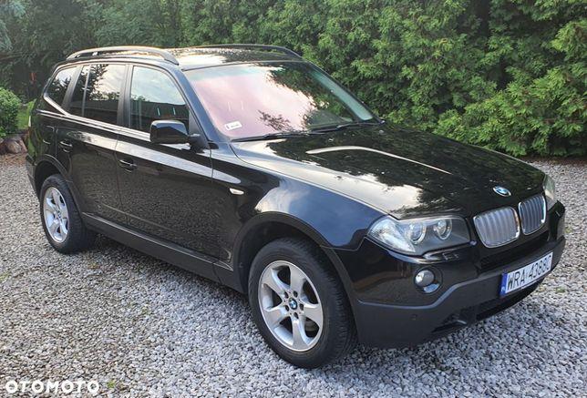 BMW X3 3.0D 218KM Skóra Xenon PDC Navi Tempomat Grzane Fotele