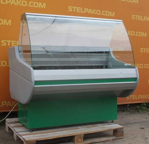 Холодильная колбасная витрина «Росс Siena» 1.3 м. (Украина), Б/у 77044
