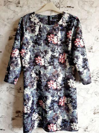 Платье женское, цветочный принт