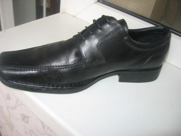 туфли мужские 44 Clarks кожа новые