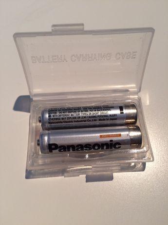 Komplet dwóch baterii do ładowania AAA Panasonic