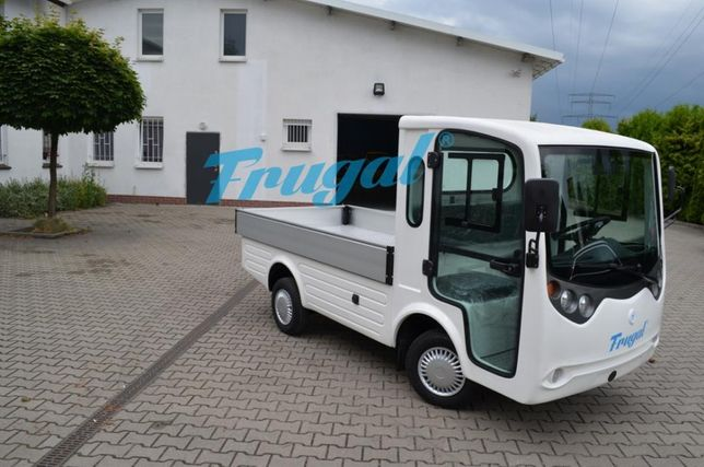 Przemysłowy pojazd elektryczny + skrzynia - FRUGAL,nie melex, meleks