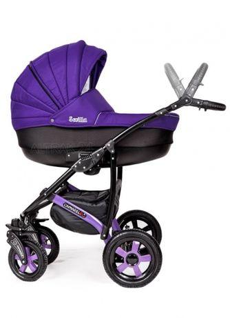 Продам коляску Camarelo Sevilla 2 в 1 фиолетового цвета.