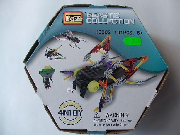 Klocki konstruktorskie, pasują do LEGO mucha, insekty, ponad 180 częśc