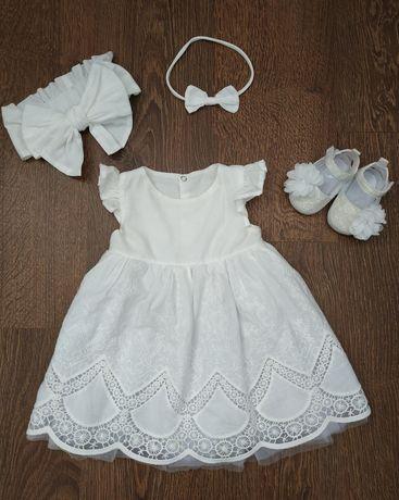 Нарядное платье Minimika, на хрестини, рочок (годик)