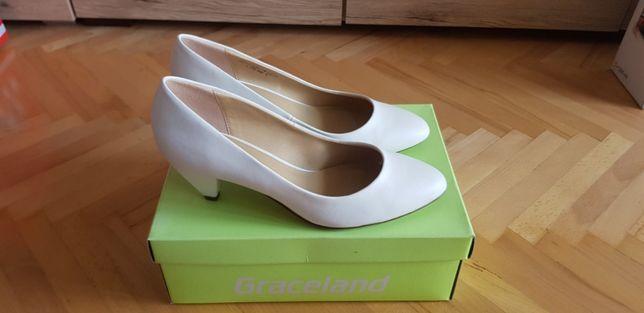 Buty ślubne białe rozmiar 37 nowe