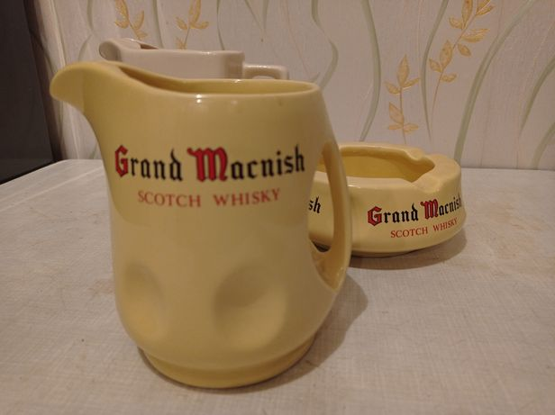 Grand Macnish Scots Whiskey Ceramic