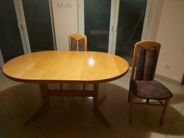 Stół i 6 krzeseł polecam